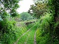 Lane near Owley - geograph.org.uk - 933657.jpg