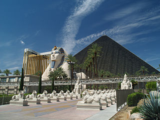 Luxor Las Vegas Hotel and casino in Paradise, Nevada