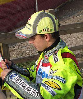 Lasse Bjerre Danish speedway rider
