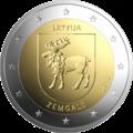 Latvia 2 euro Zemgale 2018.png