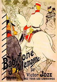 Lautrec babylone d'allemagne (poster for 'the german babylon') 1894.jpg