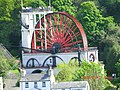 Laxey Wheel from the Tram - panoramio.jpg