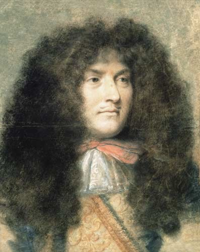 Le Brun, Charles - Louis XIV of France - Louvre, INV29874