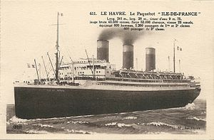 SS Île de France - Wikipedia