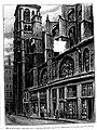Le Lyon de nos pères, Vingtrinier et Drevet, 1901, page 039, Rougeron-Vignerot-Demoulin et Joannès Drevet, église Saint-Jean, côté nord sur la rue Saint-Étienne.jpg