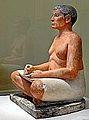 Le Scribe accroupi (Musée du Louvre) (8738516052).jpg