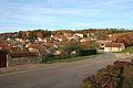 Le village vue de la place de la mairie.JPG