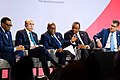 Leaders panel at the UK-Africa Investment Summit, 20 January 2020 (49414717128).jpg