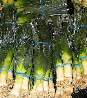 Leeks for sale