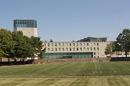 Iacocca Hall on the Mountaintop Campus. Lehigh University Mountain Top Campus.jpg