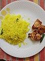 Lemon rice and Chicken 65.jpg