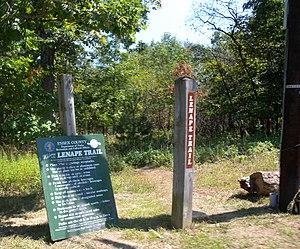 Lenape Trail - Eagle Rock Reservation