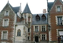 Clos Lucé, in France where Leonardo died in 1519.