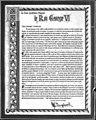 Lettre élogieuse de Maurice Duplessis envers le roi George VI, 1939.jpg