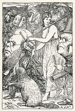 Lewis Carroll - Henry Holiday - Snarkin metsästys - levy 6.jpg