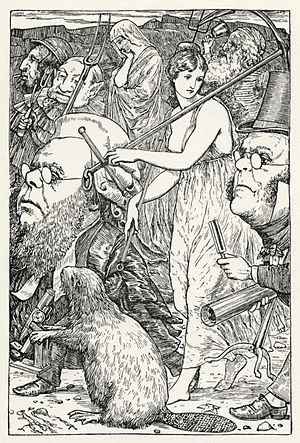 The Hunting of the Snark - Henry Holiday's illustration of the hunt