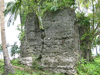 """Libagon, Southern Leyte - The """"Balwarte"""" where the Japanese soldiers camp during World War II"""