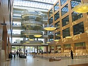 Lobby of the UBC Life Sciences Centre, opened in 2004