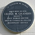 Lilian Grandin plaque Jersey.jpg