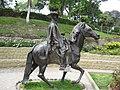 Lima Peru statue in Santiago of Surco..jpg