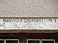 Linteau daté de 1743. Montussaint.jpg