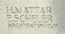 Linz, Rheinstraße 1 Architektengravur, 30.07.2013.jpg
