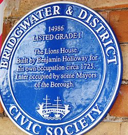 Photo of Benjamin Holloway blue plaque
