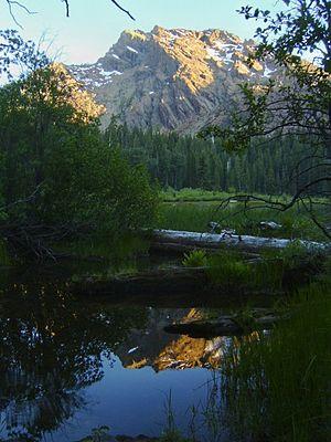 Klamath National Forest - Little Elk Lake in Klamath National Forest
