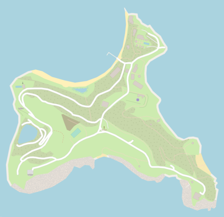 Epstein's private island of Little St. James in the US Virgin Islands. Little Saint James.png
