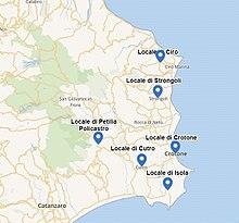Ndrangheta In Provincia Di Crotone Wikipedia