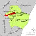 Localització de Torres Torres respecte del Camp de Morvedre.png