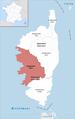 Locator map of Arrondissement Ajaccio 2017.png