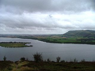 Loch Leven (Kinross) lake in Perth and Kinross, Scotland, United Kingdom