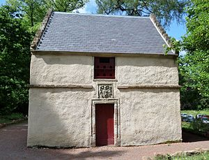 Dumfries House - Old dovecot at Dumfries House following restoration