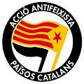 Logo of Acció Antifeixista Països Catalans (Catalan Countries).jpg