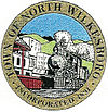 Official seal of North Wilkesboro, North Carolina