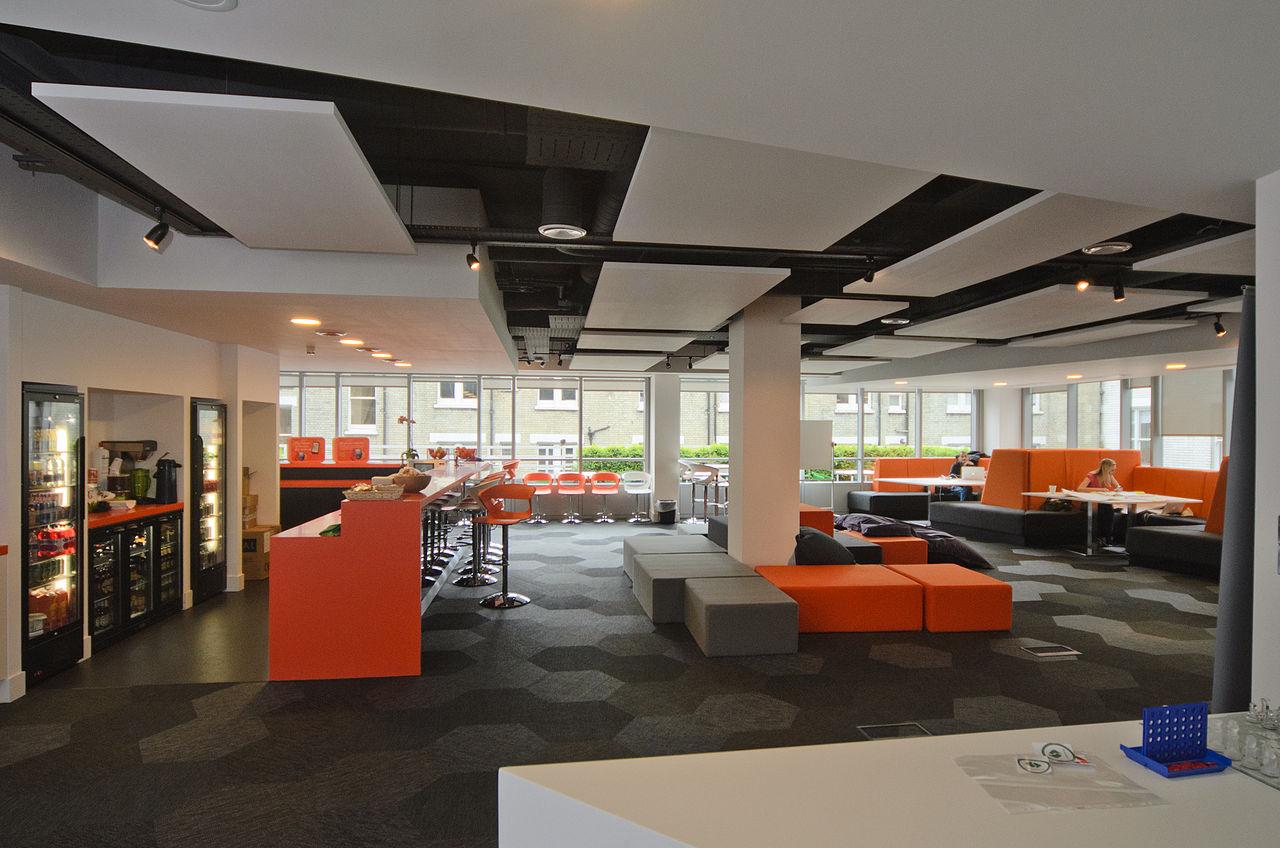 open office ceiling decoration idea. File:London Mozilla Workspace.jpg Open Office Ceiling Decoration Idea E