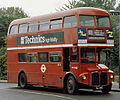London Transport Routemaster bus RM192 (VLT 192) April 1978 route 102 Golders Green.jpg
