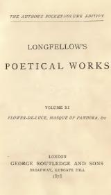 Longfellow - Longfellow's Poetical Works, Vol XI, 1878.djvu