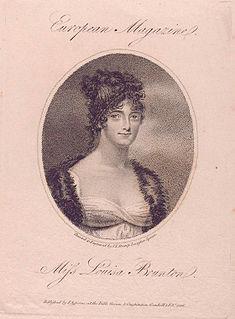 Louisa, Countess of Craven English actress
