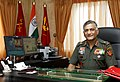 Lt. Gen. V.K. Singh, PVSM, AVSM, YSM, ADC, presently GOC-in-C, Eastern Command has been appointed the next Chief of the Army Staff in the rank of General with effect from the afternoon of March 31, 2010.jpg