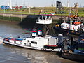 Lucia (tugboat, 1943), ENI 02322715, navigating into the Zandvlietsluis, Port of Antwerp pic3.JPG