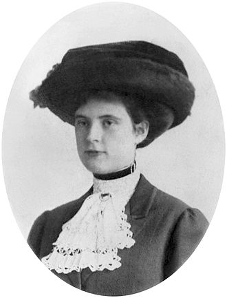 Lucy Mercer Rutherfurd - Lucy Page Mercer, circa 1915