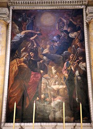 San Paolo Maggiore, Bologna - Image: Ludovico carracci, immacolata concezione, detta il paradiso, 1616, 01