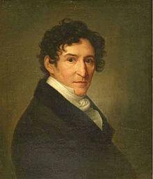 Ludwig Devrient (Gemälde von Christoph Wilhelm Wohlien, 1831) (Quelle: Wikimedia)