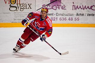 Lukáš Květoň Czech ice hockey player