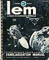 Lunar Excursion Module Familiarization Manual (front cover).jpg