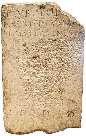 Taurobolium - Image: Lyon Autel CIL XIII 1756