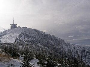 Lysá hora - Image: Lysá hora, vrchol 04