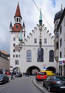 München, Altes Rathaus von der Tal-Seite (2016)